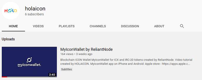 HOLAICON_Youtube