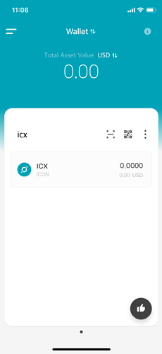 icx wallet 1