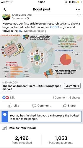 Indian Subcontinent Ad FB