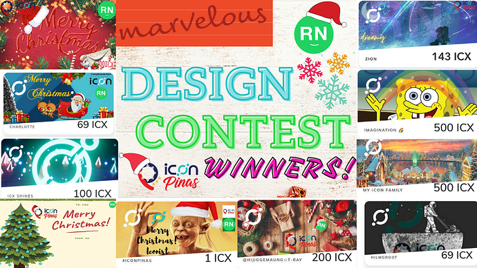 Marvelous Design Contest Winners