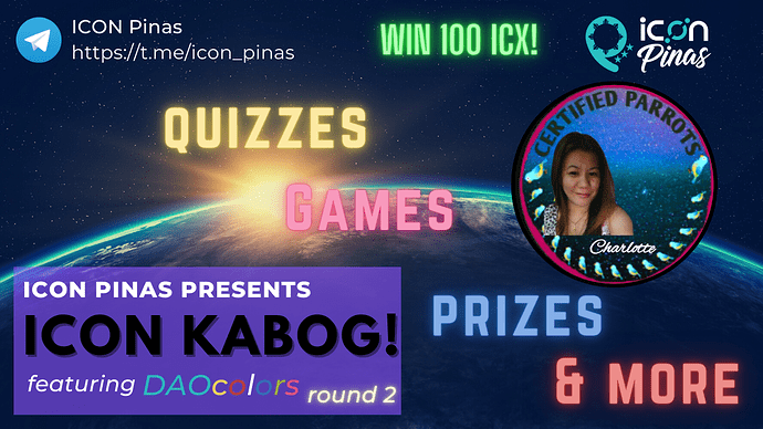 ICON KABOG! featuring DAOcolors Round 2