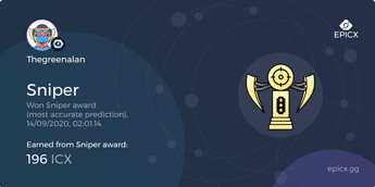 share card - trophy