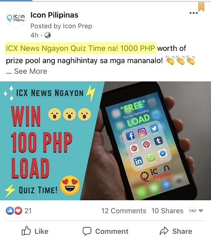 ICX News Ngayon Quiz Time
