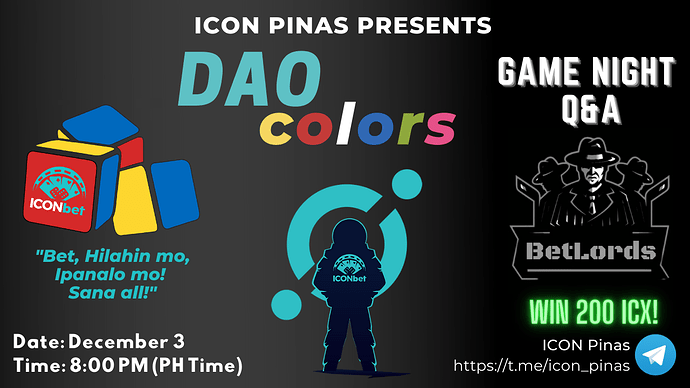 DAOcolors Game Night Q&A